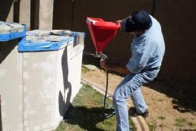 напыление пробкового покрытия